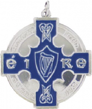 Silver Enamelled 50mm GAA Medal